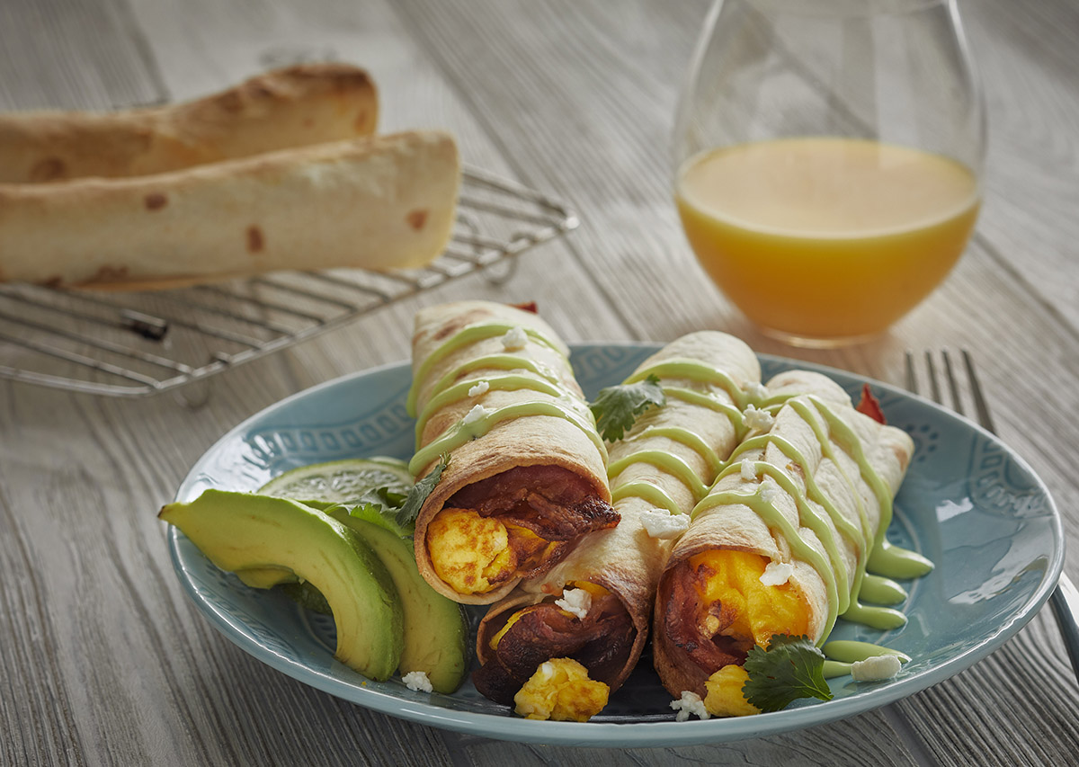Breakfast Flautas George Foreman Recipe