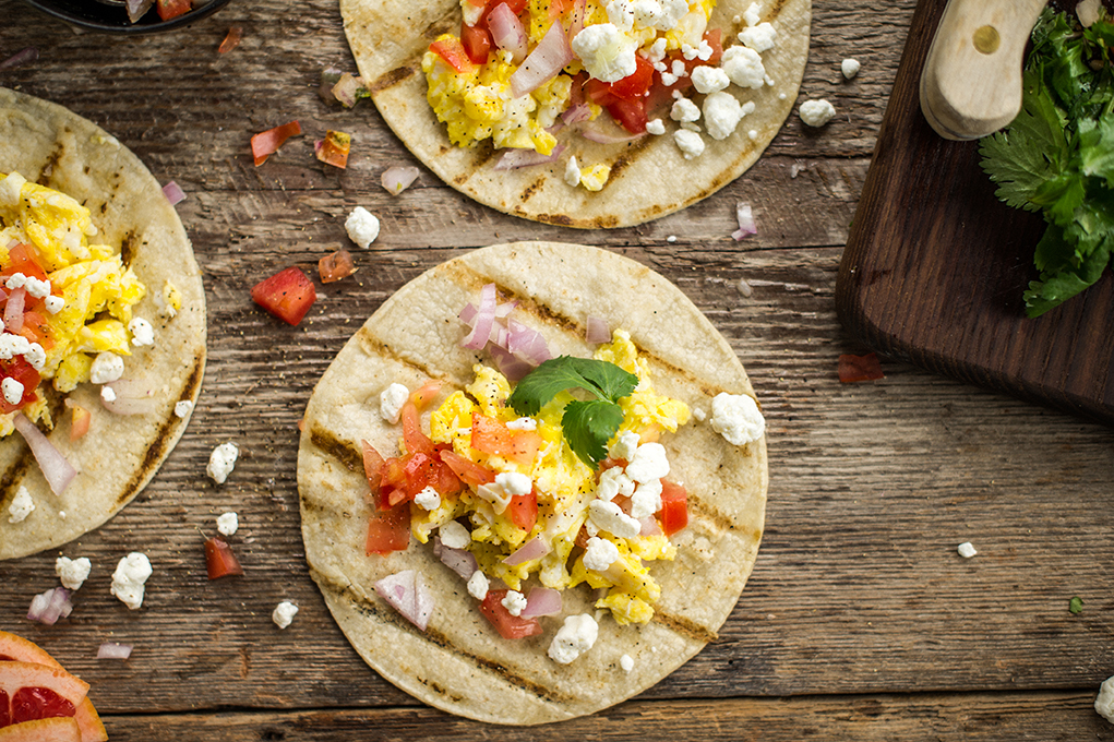 George Foreman easy breakfast tacos recipe indoor outdoor grill