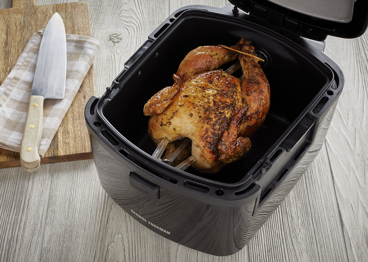 Air Fryer Whole Chicken George Foreman Recipe