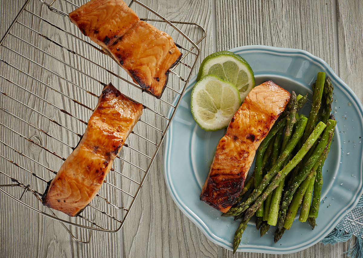 Honey Sriracha Salmon George Foreman Recipe