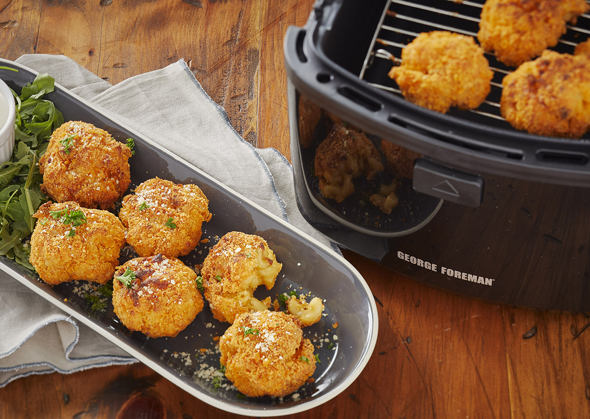 Mac and Cheese Balls George Foreman Recipe