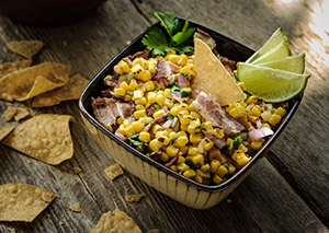 George Foreman Roasted Corn Salsa Recipe