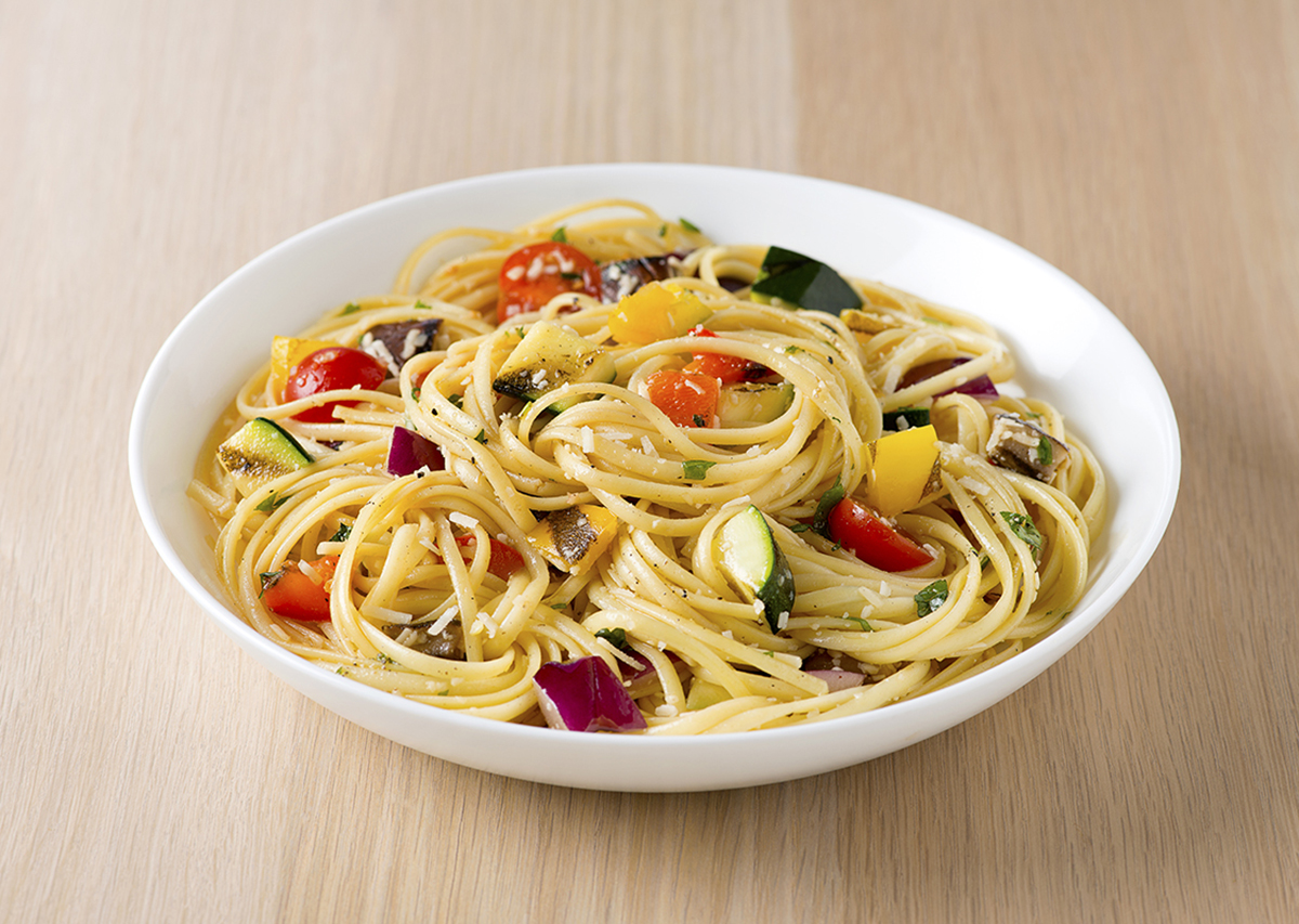 Grilled Vegetable Pasta Primavera