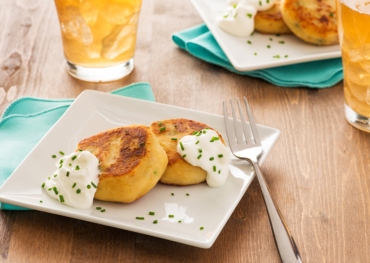 Leftover Potato Cakes