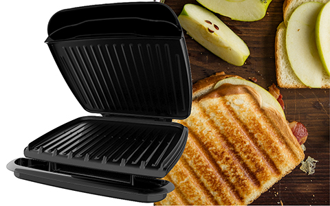 George Foreman® feature callout gr2120b