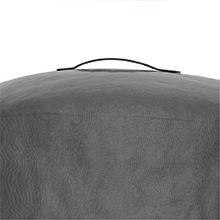 George Foreman® indoor outdoor round grill cover handle gfa0240rdcg