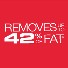 RPGD3994BK Removes up to 42 Percent of Fat
