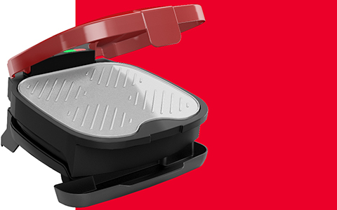 George Foreman® feature callout left gr1036btr