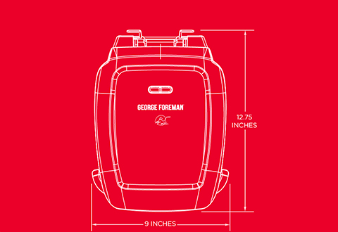 George Foreman® product outline gr2060b