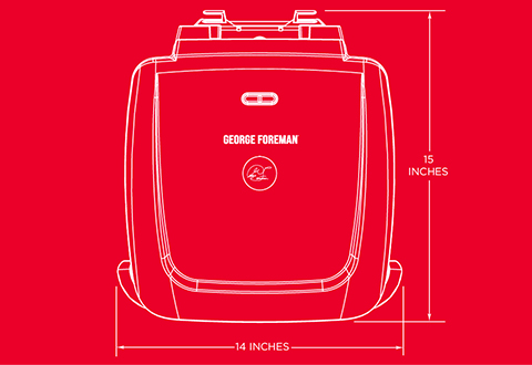 George Foreman® product outline gr2120b