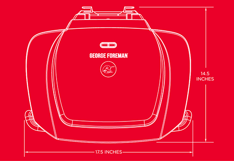George Foreman® product outline gr2144p