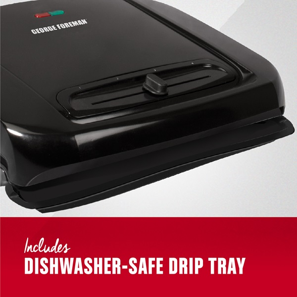 Includes Dishwasher-Safe Drip Tray