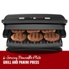 6-Serving Removable Plate Grill and Panini Press
