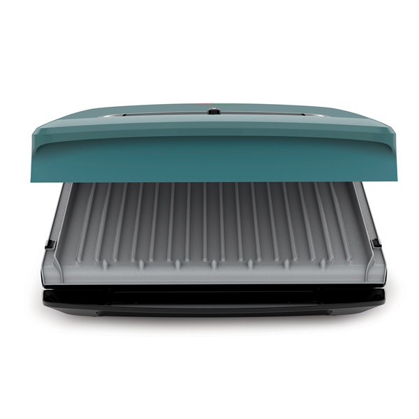 Rapid Grill Series 5-Serving Removable Plate Electric Indoor Grill and Panini Press, Green