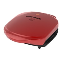 George Foreman basic grill GR10RM red