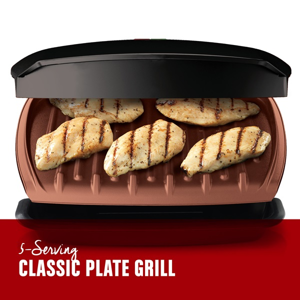 5-Serving. Classic Plate Grill