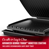 GR380VB 8-Serving Classic Plate Electric Indoor Grill and Panini Press with Adjustable Temperature with Nonstick Coating