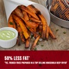 50 percent less fat