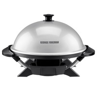 GFO200S George Foreman Indoor Outdoor Silver Grill
