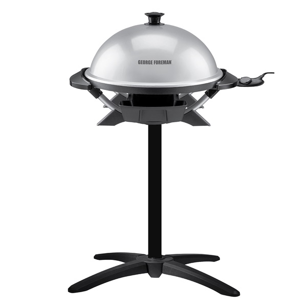 GFO200SSP 12+ Serving Domed Electric Grill with Cleaning Sponges