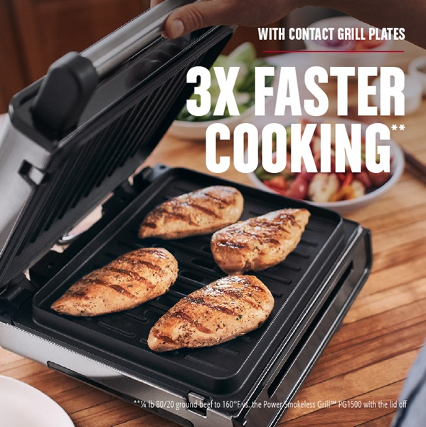 3X faster cooking