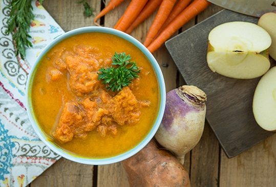 Juiceman Carrot Ginger Sweet Potato Healthy Living Recipe