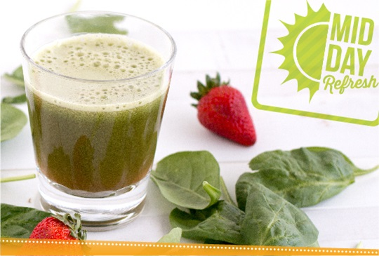 Strawberry Spinach Antioxidant Support