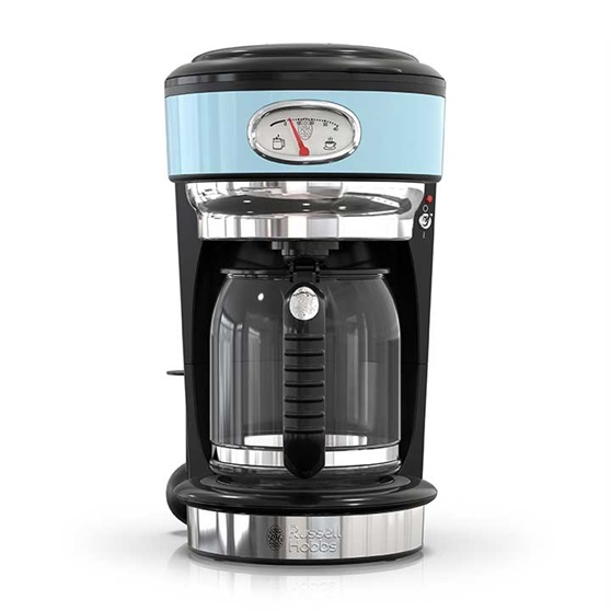 Russell Hobbs Retro 10-Cup Coffeemaker, Heavenly Blue, CM3100BLR