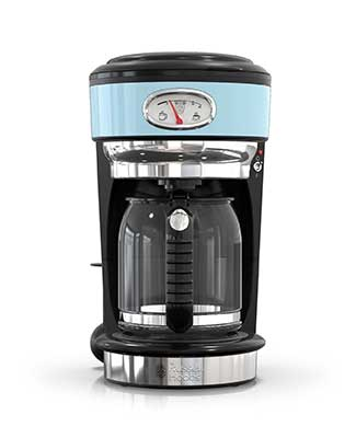 Blue Retro Coffeemaker