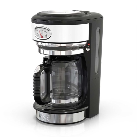 CM3100WTR Retro Style Coffeemaker in White