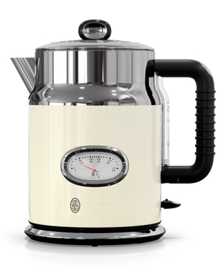 KE5550CRR Retro Style Cream Electric Kettle
