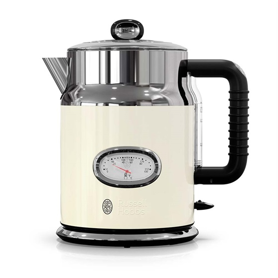 KE5550CRR Retro Style Electric Kettle in Cream