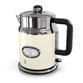 KE5550CRR Retro Style Cream Electric Tea Kettle