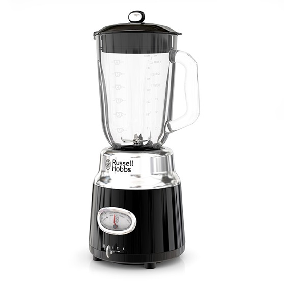 RUSSELL HOBBS™ Retro Style Black 6-Cup Blender