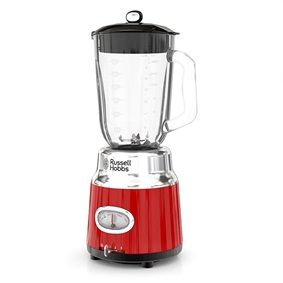RUSSELL HOBBS™ Retro Style Red 6-Cup Blender