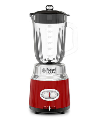 Red Retro Blender