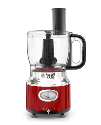 Red Retro Food Processor