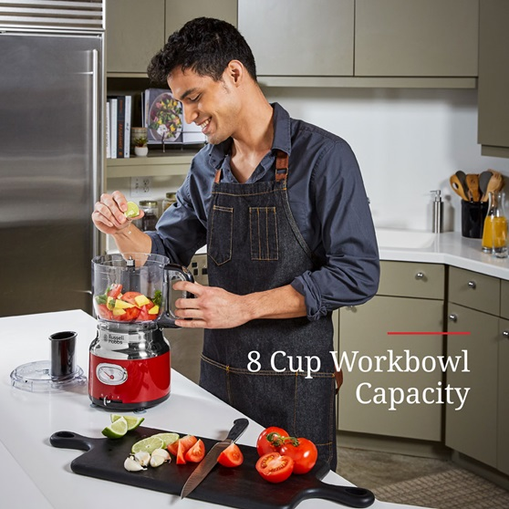 8-Cup Workbowl Capacity