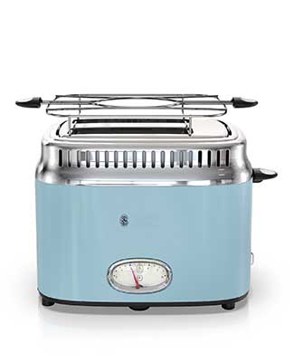 Blue 2 Slice Toaster