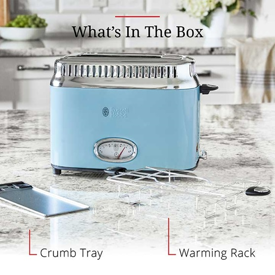 Whats In The Box - Crumb Tray and Warming Rack