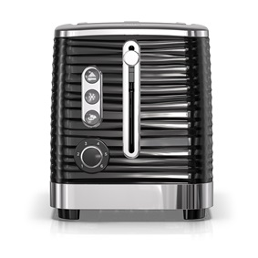 Coventry 2-Slice Black Toaster