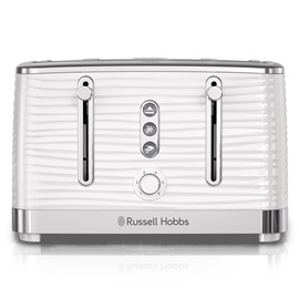 Coventry 4-Slice White Toaster