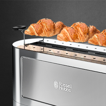 silver glass accent 2 slice toaster warming rack