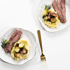 Rosemary and Garlic Steak Recipe
