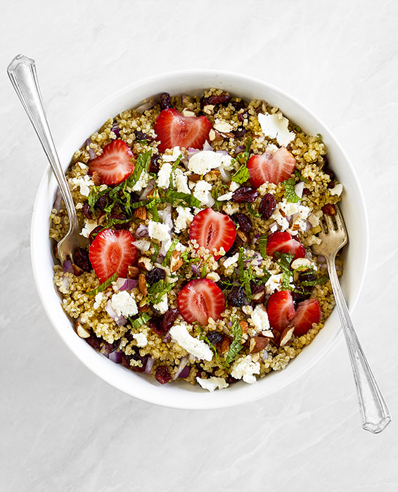 Strawberry and Almond Tabbouleh Russell Hobbs Recipe