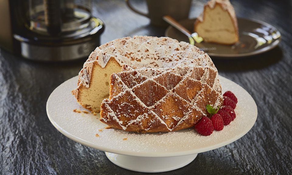 russell hobbs coffee cake recipe