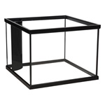 Corner-Flo™ Rectangular Aquarium - Black