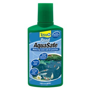 TetraPond AquaSafe pond water treatment