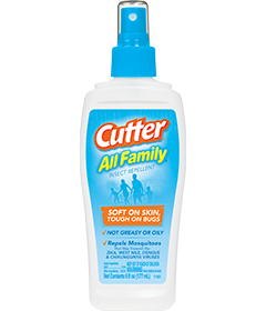 Cutter® All Family® Insect Repellent (Pump Spray) | Cutter