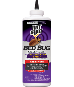 Bed Bug Kills Dust With Diatomaceous Earth | Hot Shot